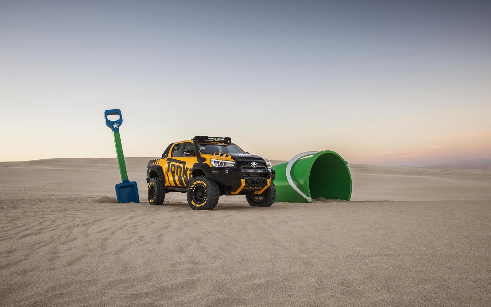 Toyota Hilux Tonka Concept: de koning van de zandbak