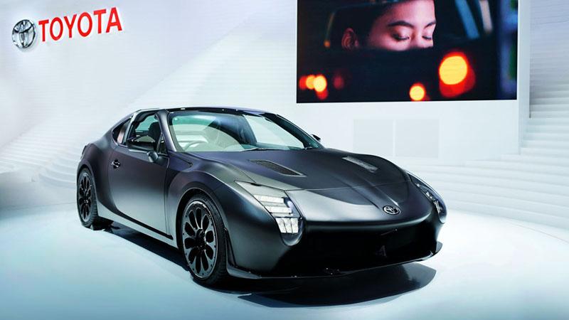 Le Toyota GR HV SPORTS concept au Tokyo Motor Show : des sensations sportives en hybride.