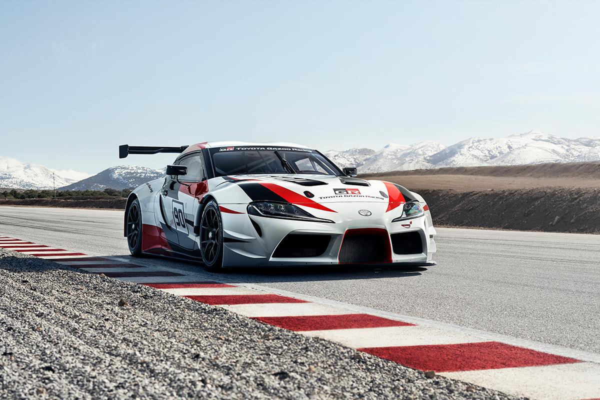 Le Toyota GR Supra Racing Concept: the Supra is back et présente un sérieux potentiel, sur route comme sur circuit.