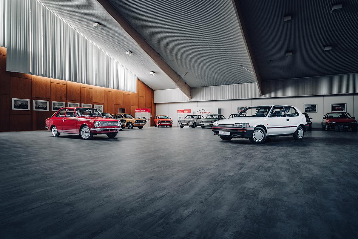 Venez découvrir Toyota Collection, un musée flambant neuf à Cologne abritant une collection unique de Toyota et voitures de courses historiques de TMG.