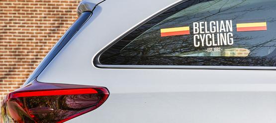 Sinds 2018 is Toyota logistiek partner van de Koninklijke Belgische Wielrijdersbond. Bondsvoorzitter Tom Van Damme spreekt vol lof over het twintigtal Toyota's dat zijn team ondersteunt.